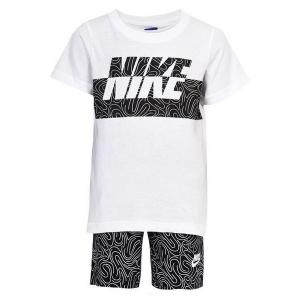 Completo Sportivo per Bambini Nike 926-023 Bianco Nero - Taglia: Taglia - 24 Mesi
