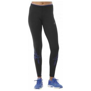 Leggings Sportivo da Donna Asics Asics Stripe Tight Nero - Taglia: L