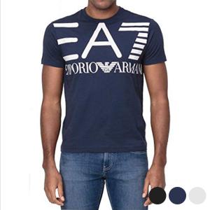 Maglia a Maniche Corte Uomo Armani Jeans 3GPT06 - Colore: Blu Marino - Taglia: M