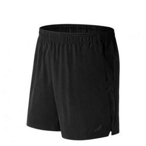 Pantaloni Corti Sportivi da Uomo New Balance 2IN1 Nero - Taglia: S