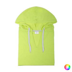 Felpa con Cappuccio Unisex 144719 - Taglia: L - Colore: Giallo Fluorescente