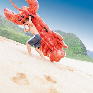 Materassino Gonfiabile Aragosta Intex (213 X 137 cm)