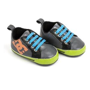 Scarpe Sportive per Bambini Dc DOWN HILL Grigio Verde - Taglia Calzatura: 6-12 Mesi