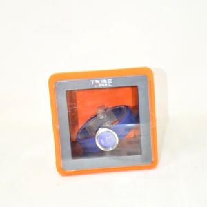Orologio Tribe Brail Cinturino Blu