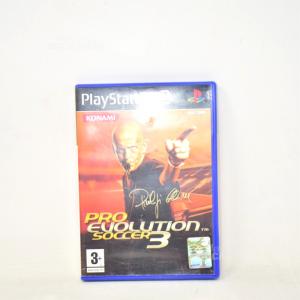 Gioco Play Station2 Pro Evolution Soccer3
