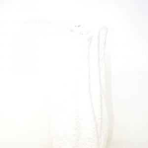 Vaso A Fazzoletto Bianco 40cm