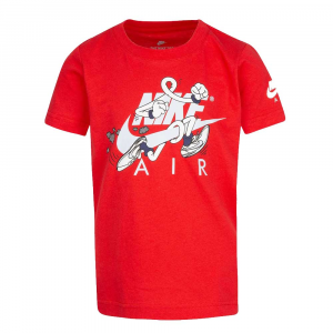 Nike T-shirt Rossa Junior