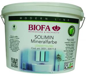 SOLIMIN 3051 -pittura ai silicati ideale per interni - 100% naturale