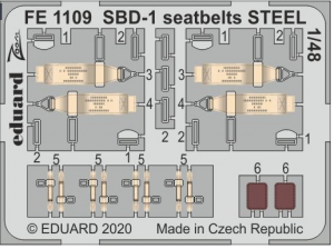 SBD-1 seatbelts STEEL