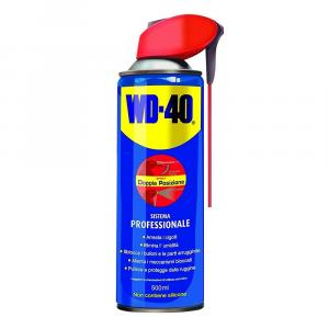 WD-40 Spray Professionale Sbloccante Doppia Azione 500ml
