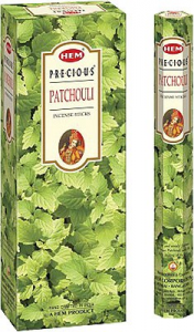 BOX INCENSO PATCHOULI