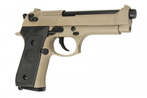 Beretta fs92 tan a co2 blow back WE