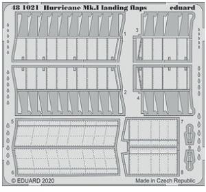 Hurricane Mk.I Landing Flaps