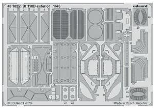 Me 110D Exterior