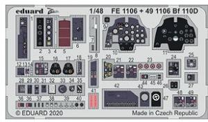 Me 110D Interior