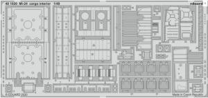 SET Mi-24 cargo interior