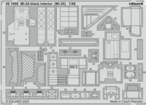 SET Mi-24 interior black (Mi-35)