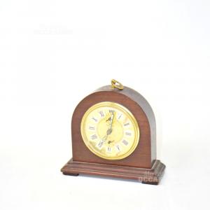 Orologio Vintage In Legno Da Tavolo Kienzle (manca1farfallina)