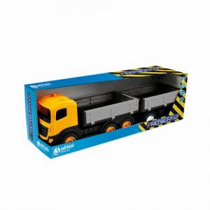 Camion 6 ruote con rimorchio multisponda in box singolo 1128 ADRIATIC