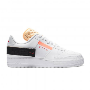 Nike Air Force1 Type Bianca da Uomo