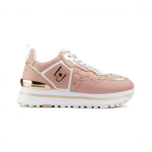 Sneaker rosa con fondo platform Liu jo