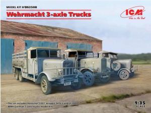 Wehrmacht 3-axle Trucks