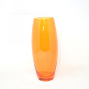 Vaso Vetro Arancione 26 Cm