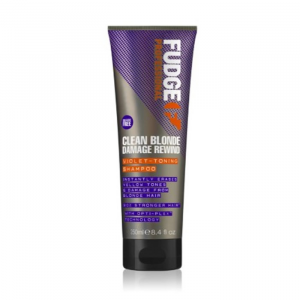Fudge Clean Blonde Damage Rewind Violet-Toning Shampoo 250 ml
