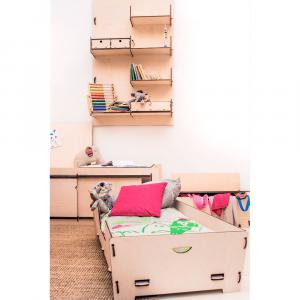 L1-HIAKI - Letto Montessori per bambini