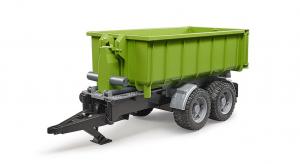 BRUDER 02035 - Rimorchio a gancio per trattori