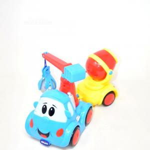 Camion Gru Chicco Blu/rosso/giallo