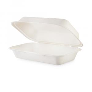 Contenitore asporto con coperchio biodegradabile - 1000ml slim