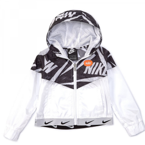 Nike K-Way Bianco\Nero Junior