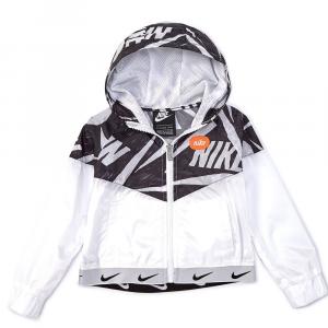 Nike K-Way Bianco\Nero Junior