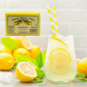 Saponetta all'olio di oliva e limone 100g