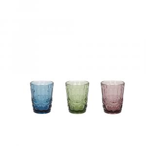Set 3 Bicchieri Vetro  Madame 230 Cc