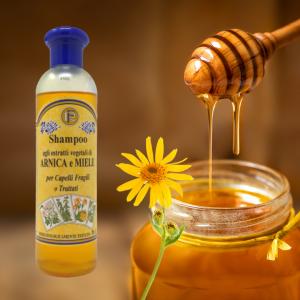 Shampoo arnica e miele 250 ml