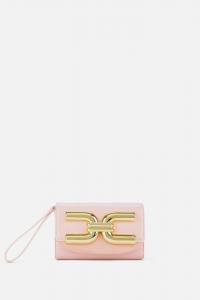 Mini borsa con logo dorato Elisabetta Franchi SS20