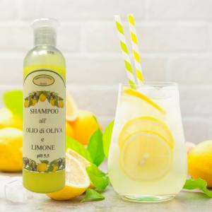 Shampoo olio di oliva e limone 250 ml