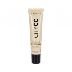 Mádara CityCC Hyaluronic Anti-Pollution CC Cream Spf15 Medium 40 ml