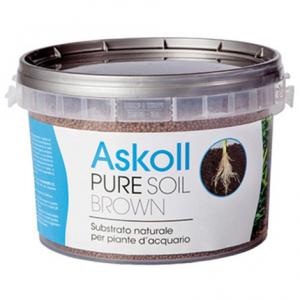 Askoll Pure Soil Brown 4kg - Substrato per Acquari Piantumati