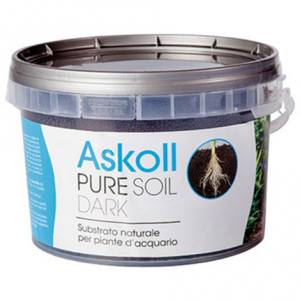 Askoll Pure Soil Dark 4kg - Substrato per Acquari Piantumati
