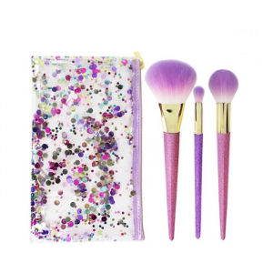 Real Techniques Brush Crush Shimmer & Shine Set 4 Parti