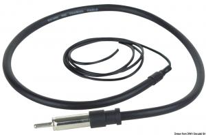 Antenna FM/AM a filo libero - Osculati