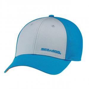 Cappellino Classico Taglia Unica 100% Cotone, Azzurro, Sea-Doo