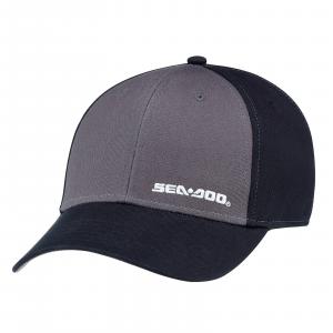 Cappellino Classico 100% Cotone Taglia Unica, Nero, Sea-Doo