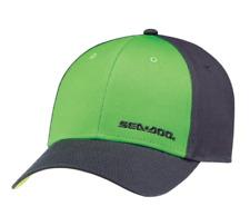 Cappellino Classico Taglia Unica 100% Cotone, Verde, Sea-Doo