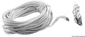 Cima c/falsa maglia 35 m 14 mm - Osculati