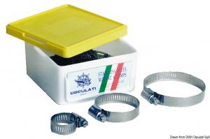 Fascetta inox 6x16 mm - Osculati
