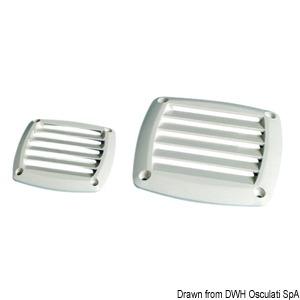 Griglia ABS 125x125 mm panna - Osculati